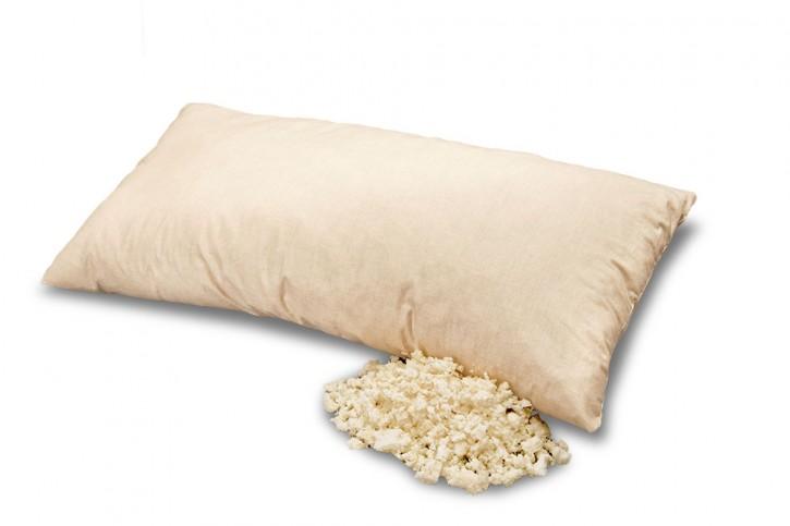 Latexflake pillow